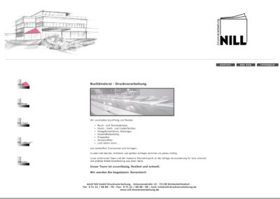 Druckverarbeitung Nill